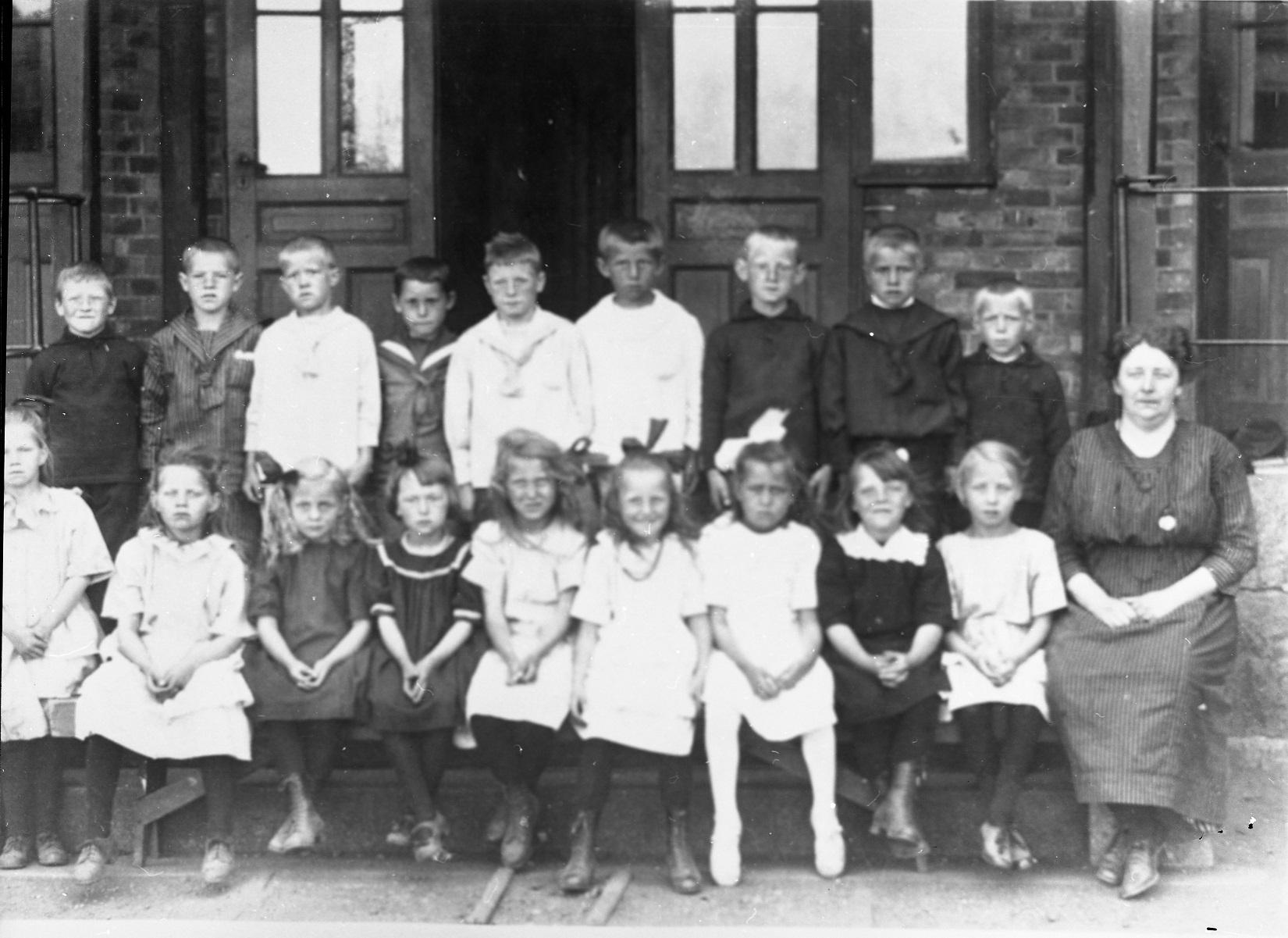 Greåker skole 1924.