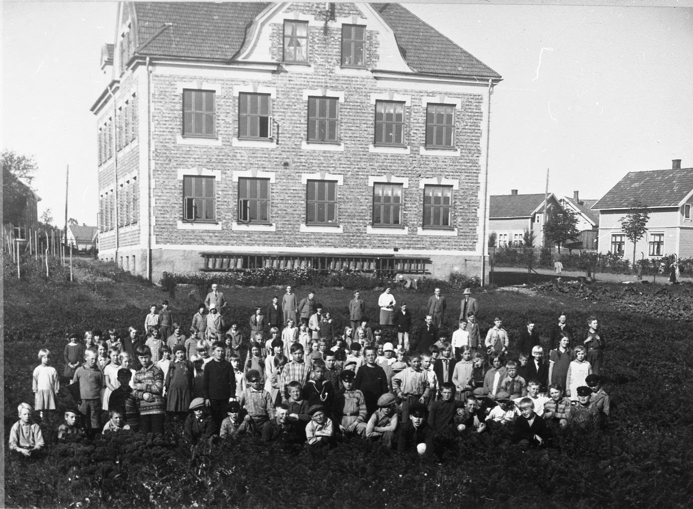Lande skole 1929.