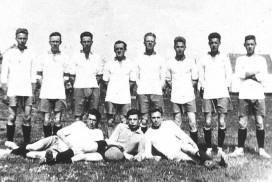 Fotballag fra Alvim i 1922