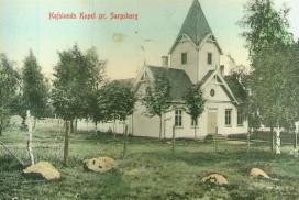 Hafslund kapell 1908. Foto: Nils Tomte