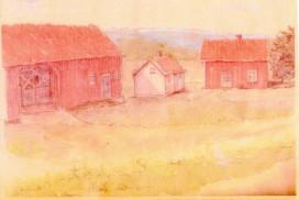 Haragjellen tegnet av Reidar Stang