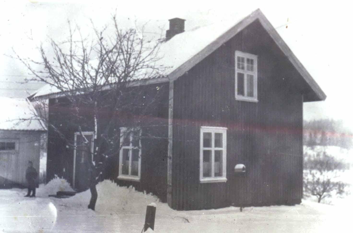 Harehjellen ca 1960. Foto: ukjent