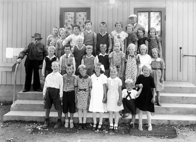 Jelsnes skole, klassebilde før 1939