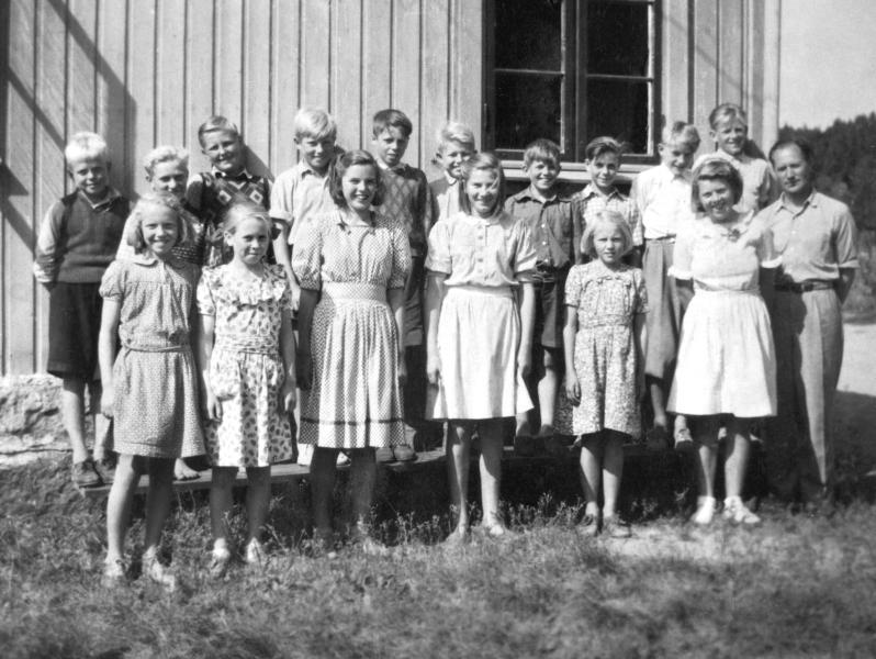 Jelsnes skole, klassebilder 1948