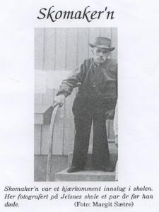 Johan Sætre som gammel