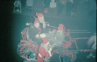 Julegateåpning på Greåker i 1965