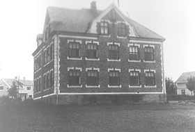 Lande skole i 1935