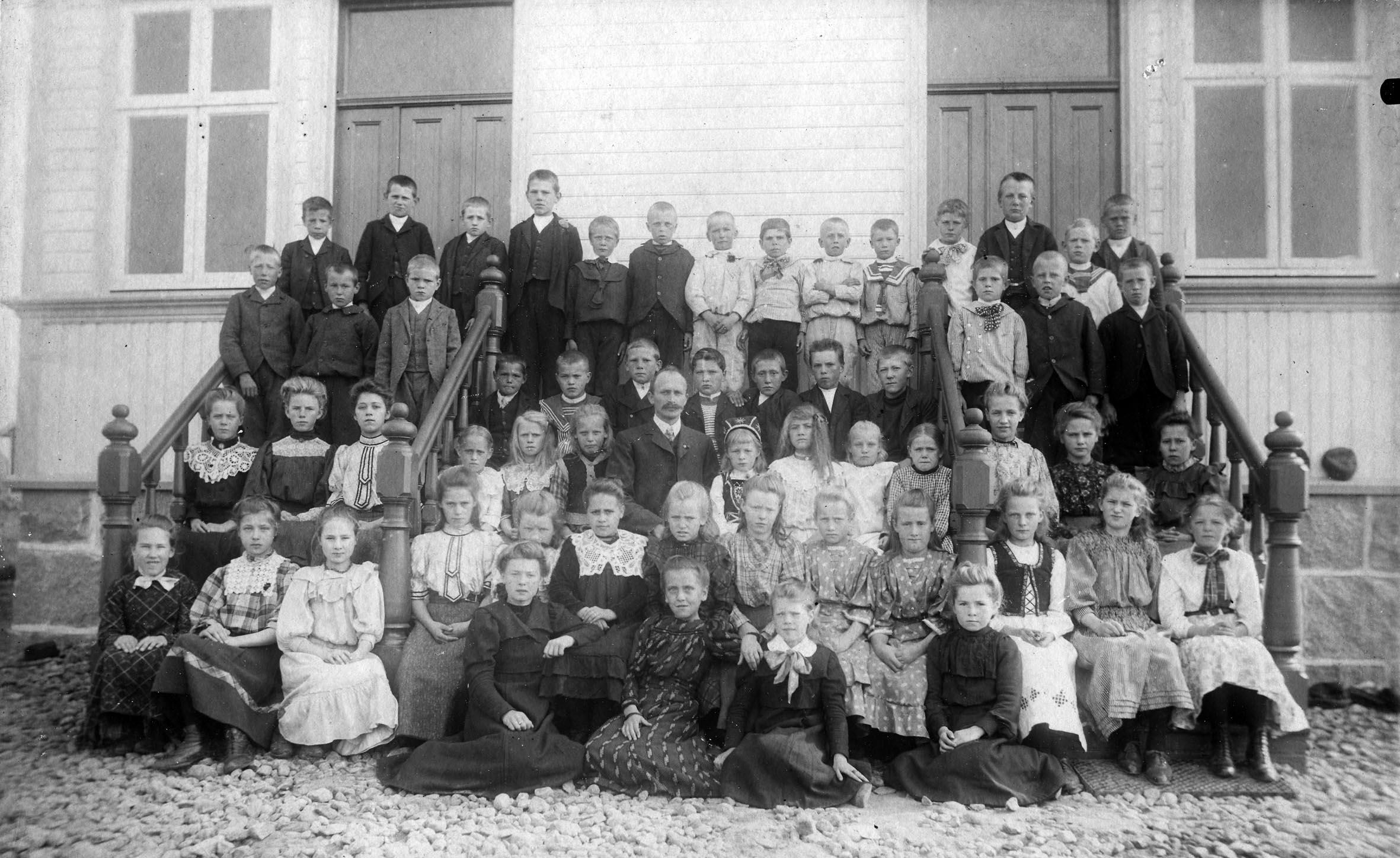 Lande skole 1908/1910