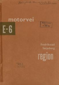 Motorvei E6 gjennom Fredrikstad og Sarpsborg region