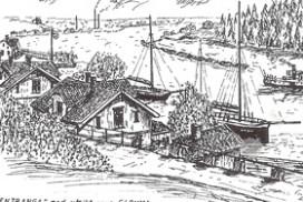 Paulsentranga tegnet av Arne Hartmann Gundersen