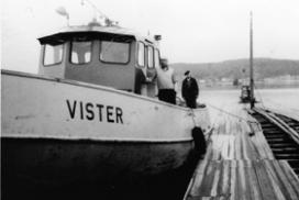 """Slepebåten """"Vister"""""""