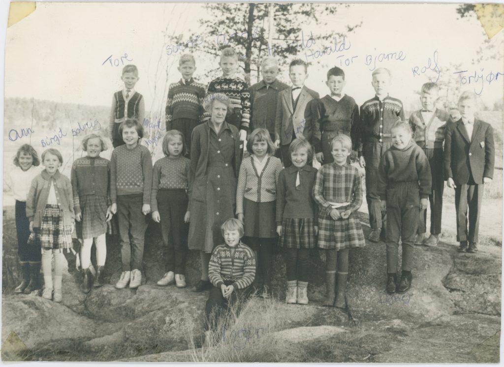 Holleby skole 1962