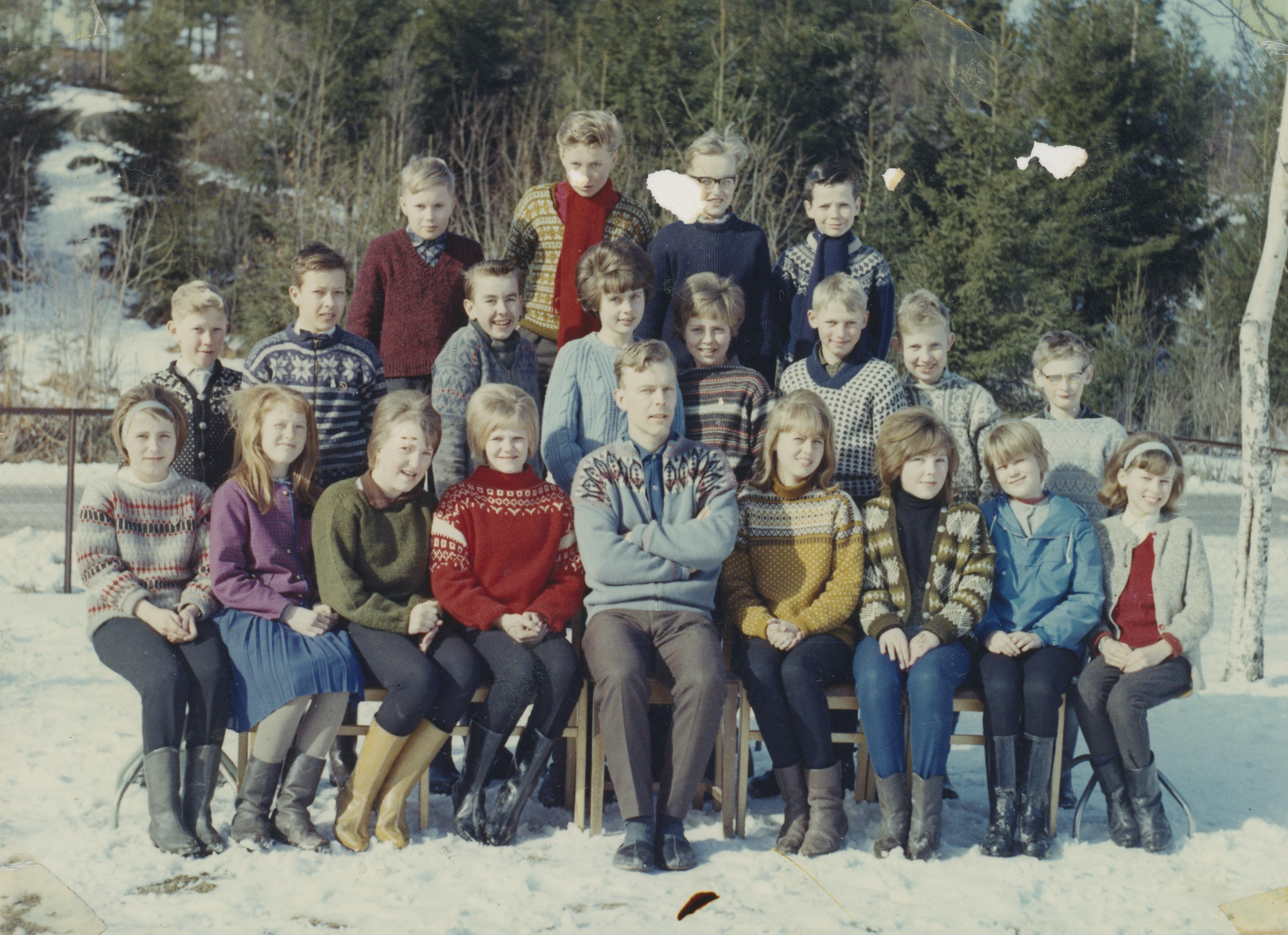 Holleby skole 1965