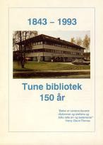 Tune Bibliotek 150 år