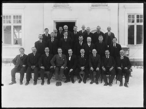 Tune Herredstyre 1925-26 Foto: Christian Emil Larsen