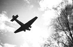 Tyske fly over Norge i April-dagene 1940