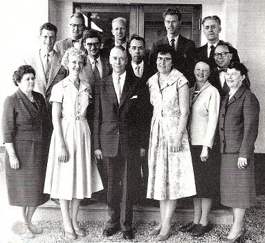 Valaskjold-lærere 1959