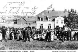Tune kommunelokale i 1905