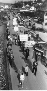 1. maitoget på Greåker i 1980
