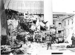 Eksplosjon på Greåker Cellulose i 1958