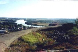 Utsikten fra Greåker fort. Foto Erling Bakken