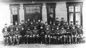 Sommergarnisonen ved Greåker fort i 1920
