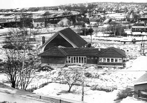 Greåker frikirke i 1980