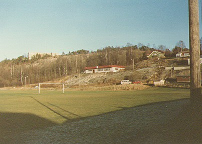 Fotballbanen på Moa i 1983