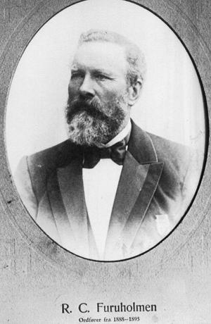 Ordfører Richard C. Furuholmen