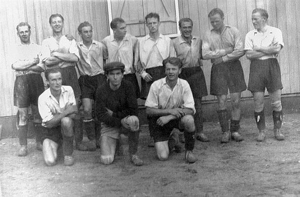 Tune idrettslags fotballgruppe 1948.