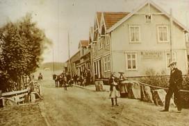 Gamle delet mellom Sarpsborg og Tune ved Torsbekkdalen