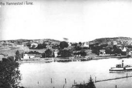 Trippen ved Hannestad i 1890