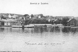 Trippen ved Hannestad i 1905