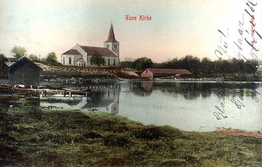 Tune kirke i 1909
